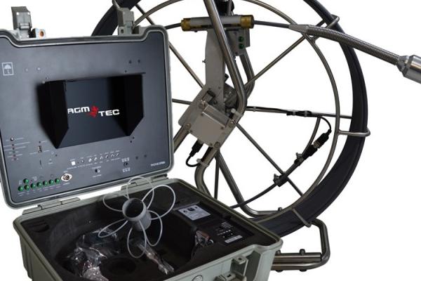 Vous cherchez une caméra d'inspection rotative en location ou à l'achat : TUBICAM XL – AGM TEC