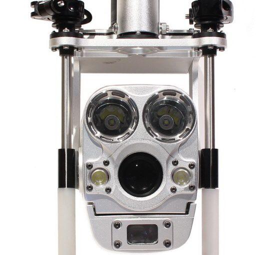 Caméra zoom d'inspection d'égouts sur perche télescopique – AGM TEC