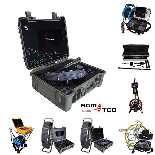 Description de nos différentes gammes de caméras d'inspection de canalisations – AGM TEC