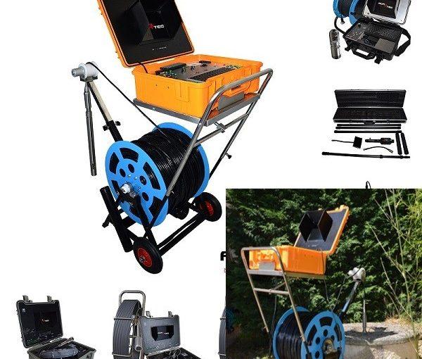 Diagnostic et inspection télévisée de puits de forages avec caméras d'inspection immergées – AGM TEC