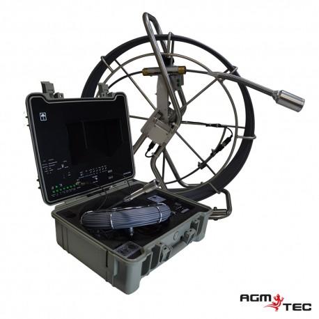AGM-TEC présente l'un de ses produits phare de système d'inspection de canalisations de drain