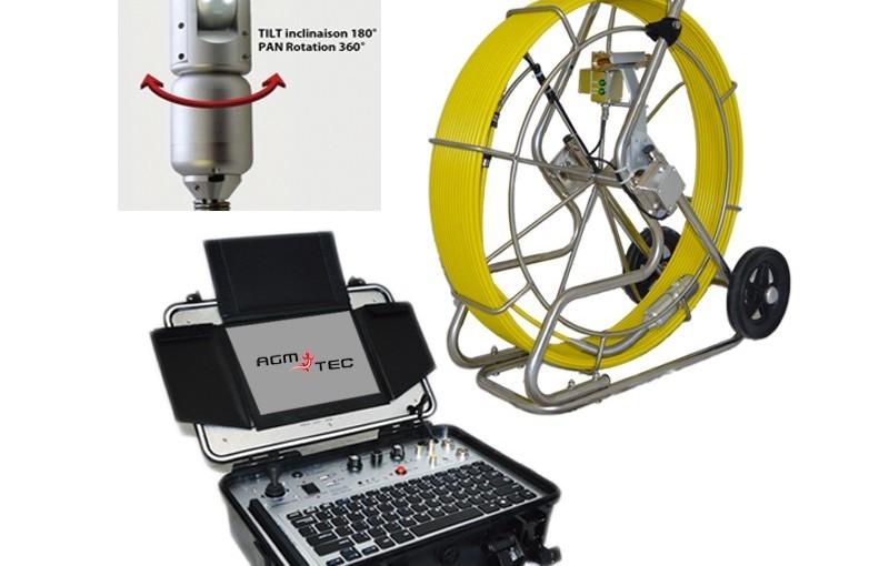 La nouvelle caméra d'inspection de drain français – rotative et panoramique!