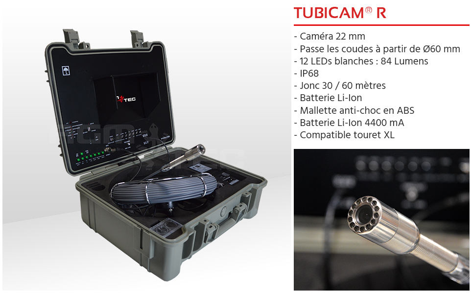 camera inspection canalisation Tubicam R