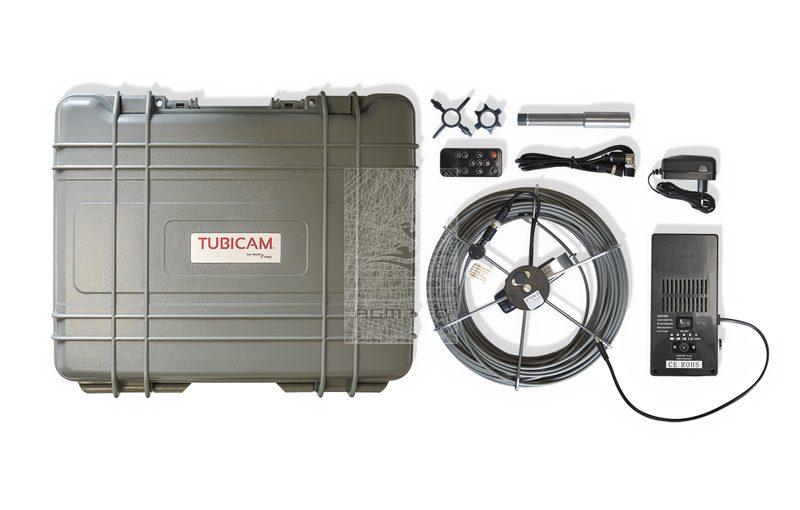 La caméra inspection professionnelle Tubicam® R 23 présente des caractéristiques optimales pour le contrôle de tuyauteries et le repérage précis d'anomalies