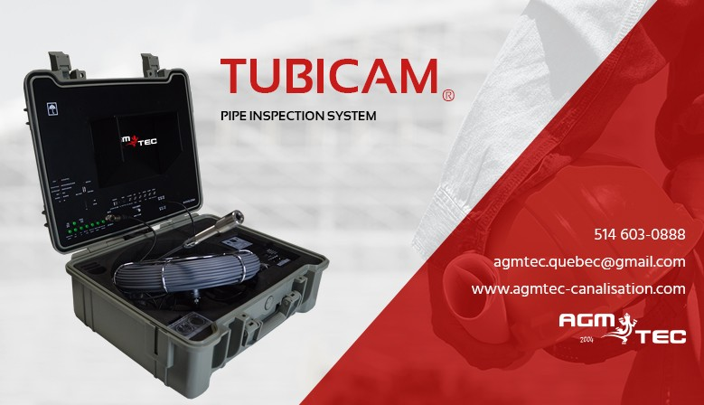 Pipe inspection system Tubicam